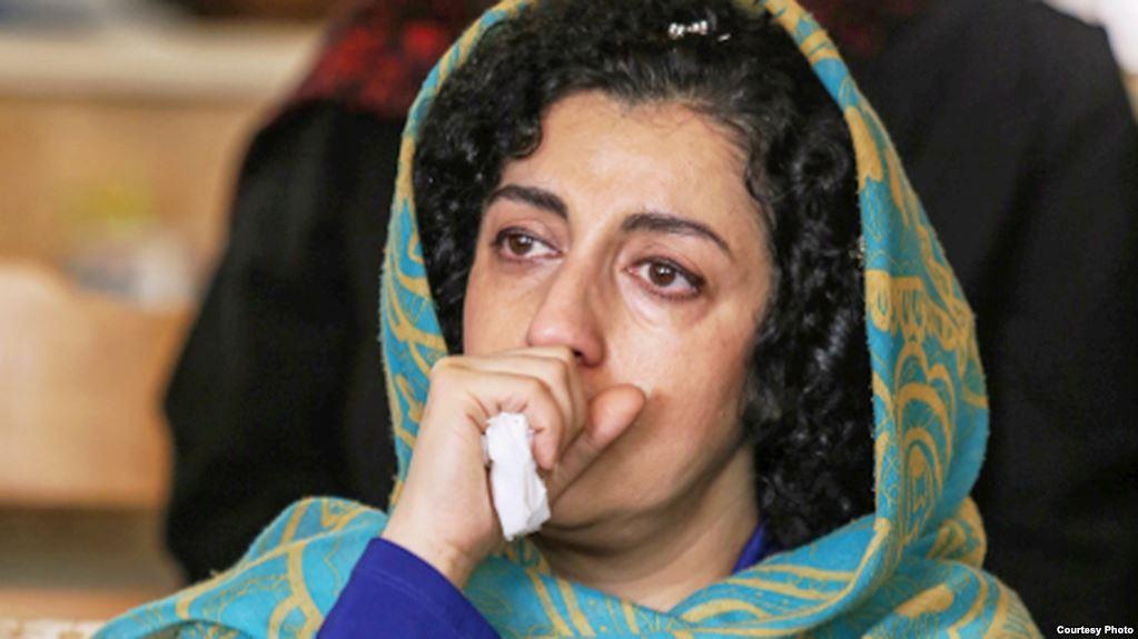 نرگس محمدی به زندان بازگردانده شد