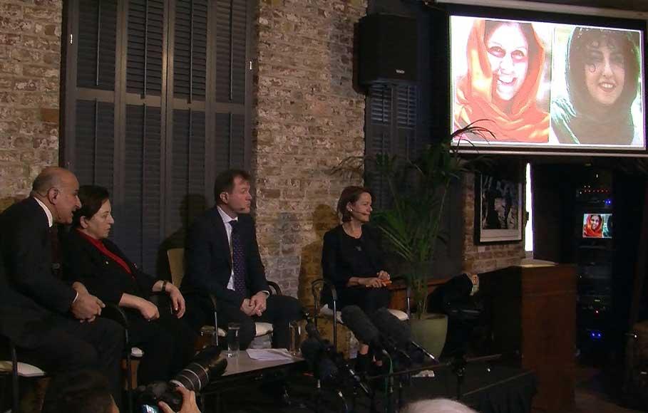 احضار سفیر ایران در لندن همزمان با اعتصاب غذای نازنین زاغری و نرگس محمدی