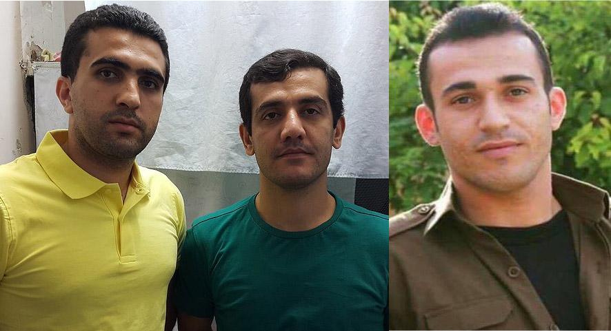 زانیار مرادی و لقمان مرادی و رامین حسین پناهی اعدام شدند